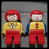 Scary clown #duplo couple