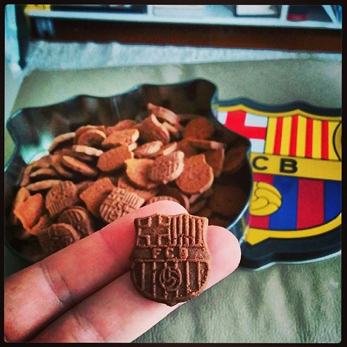 Galletas del Barça!