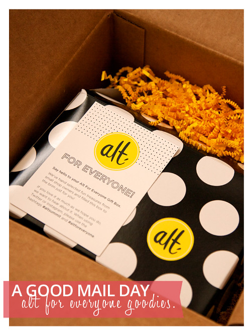 Alt for Everyone 2014 Goodie Box