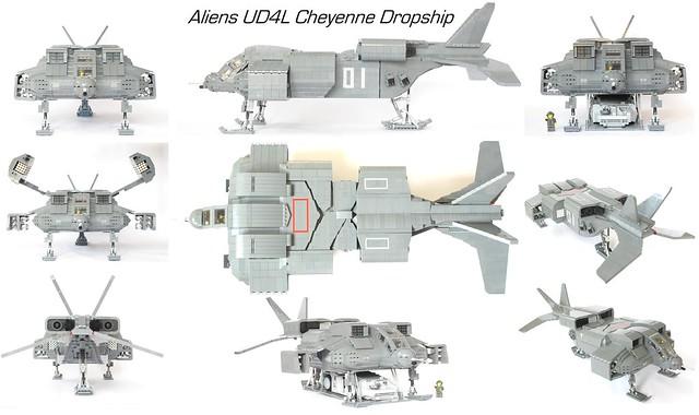 Aliens Dropship Views
