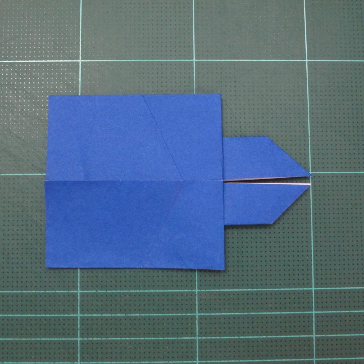 วิธีการพับกระดาษเป็นรูปกระต่าย แบบของเอ็ดวิน คอรี่ (Origami Rabbit)  016