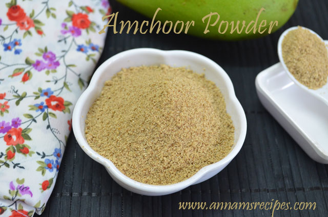 Amchur / Amchoor /Dried mango Powder