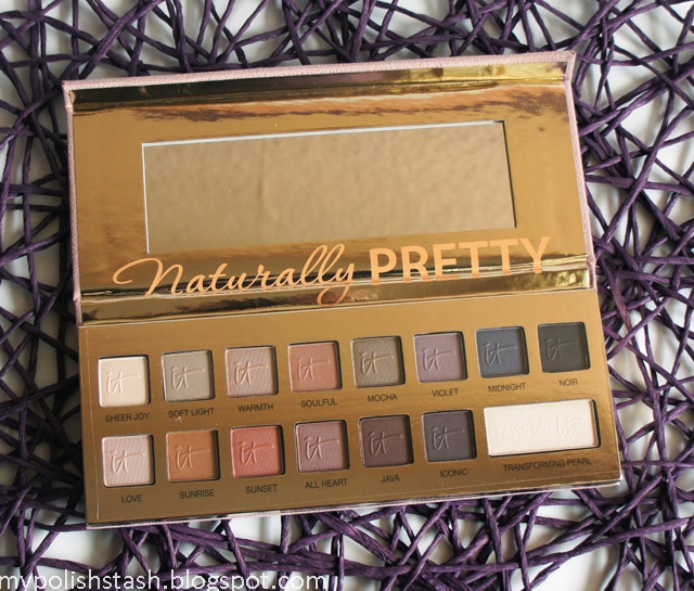 Youtube made me buy it tag_it cosmetics naturally pretty palette