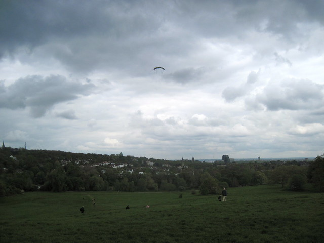 Kites on Hampstead Heath