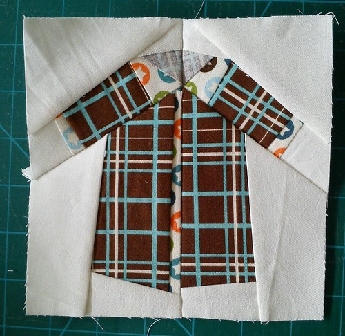 Paper pieced shirt - All Star #2