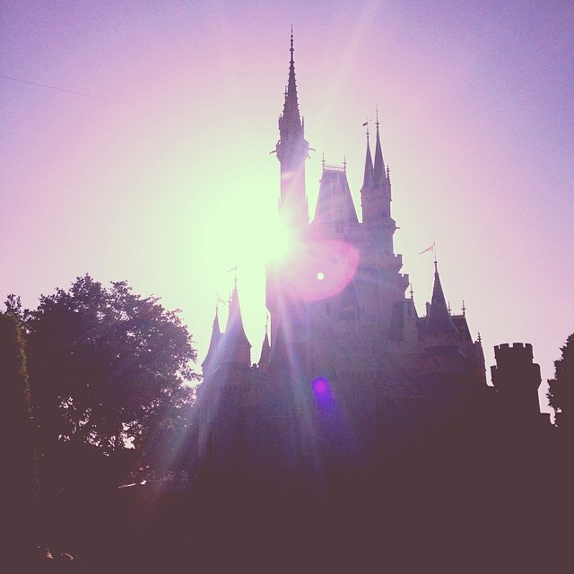 Sunlight through castles. Magical.