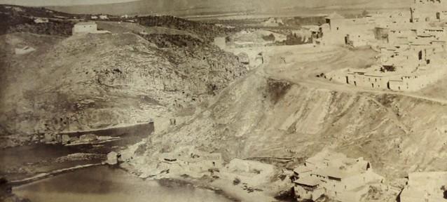 Torre de Alfarach vista en 1858 por Louis Léon Masson