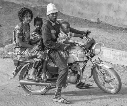 africa family people blackandwhite bw motorbike sierraleone westafrica tribe kanuka africanpeople tribalpeople northernprovince robertwhittaker africaoverland sazzoo robwhittaker robwhittakerphotography sazzoocom sierraleonepeople