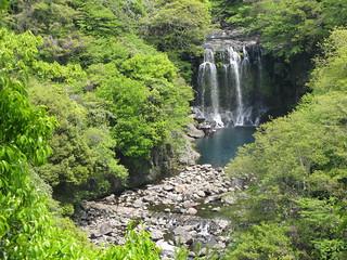 Cheonjeyeon Waterfalls (천제연폭포) - South Korea