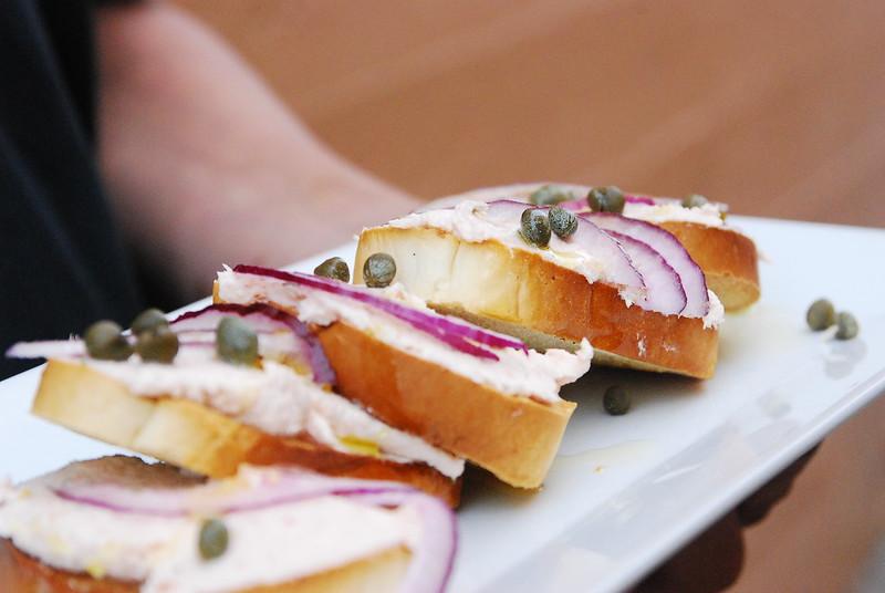 Salmon Horseradish Dip