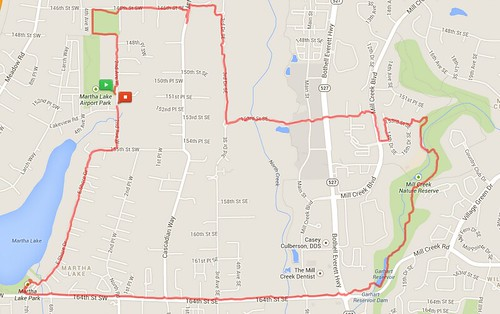 Today's awesome walk, 5.72 miles in 1:47 by christopher575