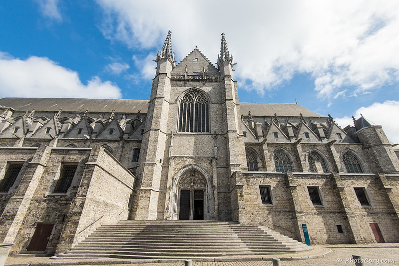 Sainte Waudru, Mons