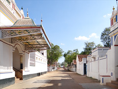 Rue de Kanadukathan (Inde)
