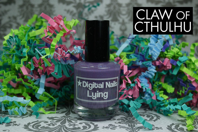 Digital Nails Lying Bottle
