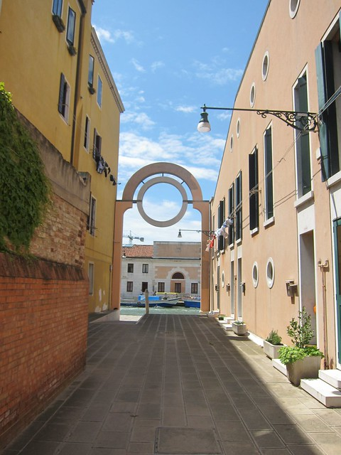 Newer archway