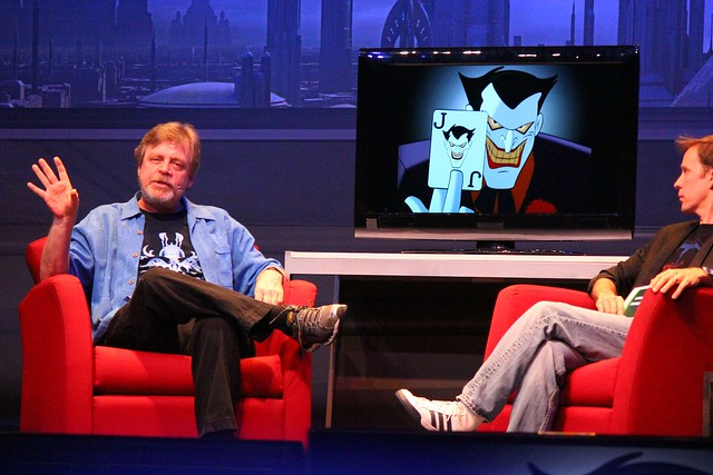 Mark Hamill at Star Wars Weekends 2014