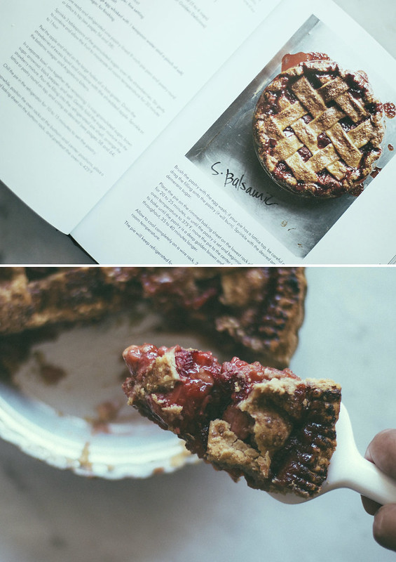 Strawberry Balsamic Pie