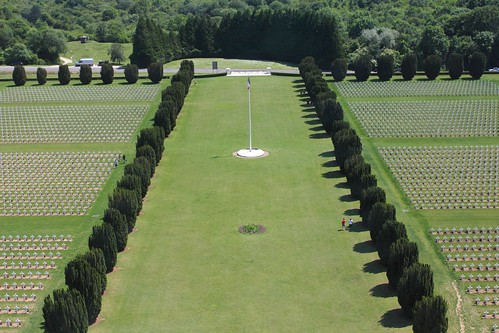 Verdun military cemetary