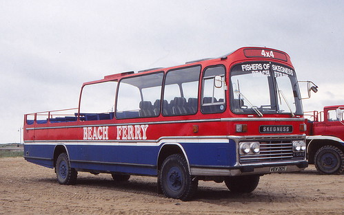 Skegness beach buses