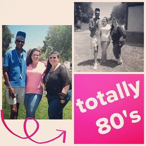 Oh my god! My oh so awesome forth grade team so like rocked the 80's today!
