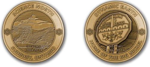 Big Nickel medal