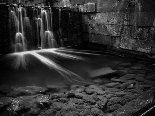 ohio blackandwhite nature water canon landscape spring waterfalls sidecutmetropark