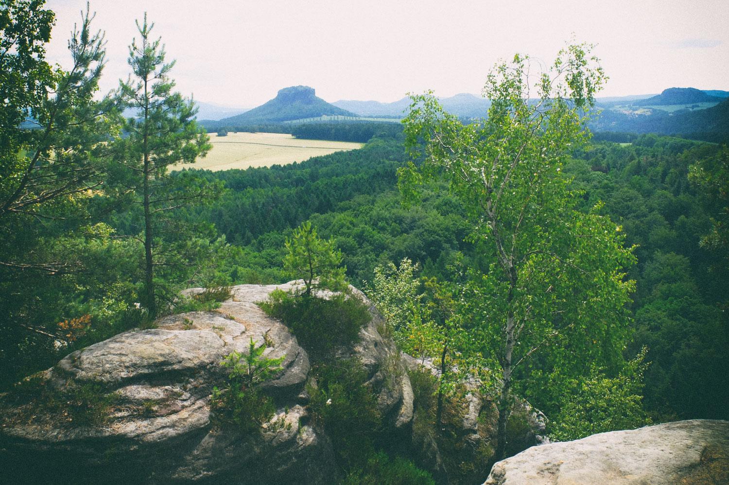 Auf dem Großen Bärenstein