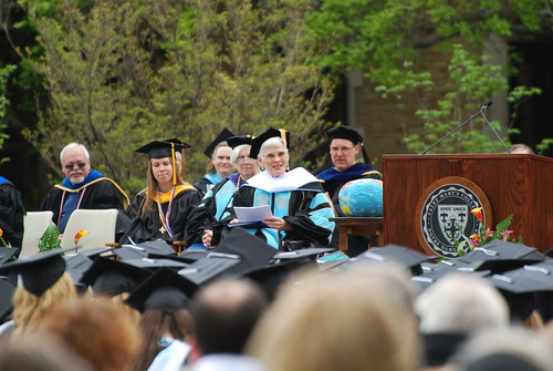 Commencement Address, Judith Ann Mayotte