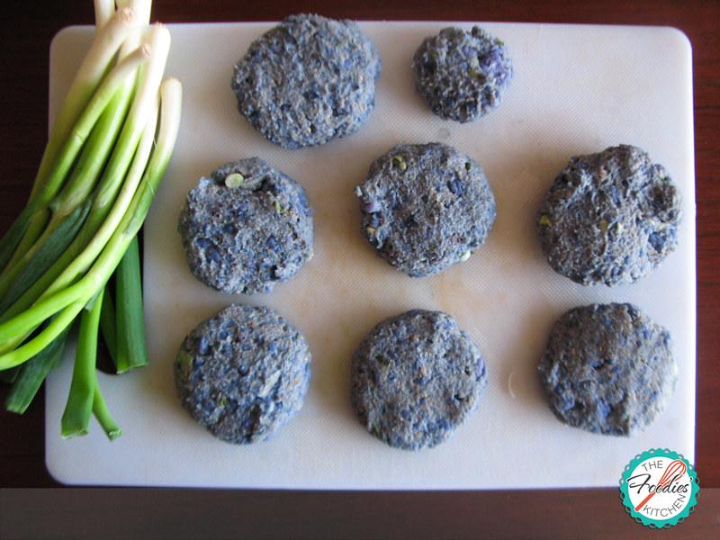 Purple Potato Patties