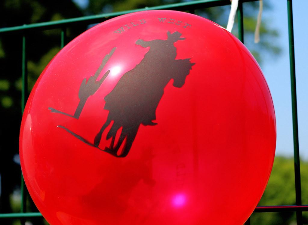 Cowboy-Luftballon