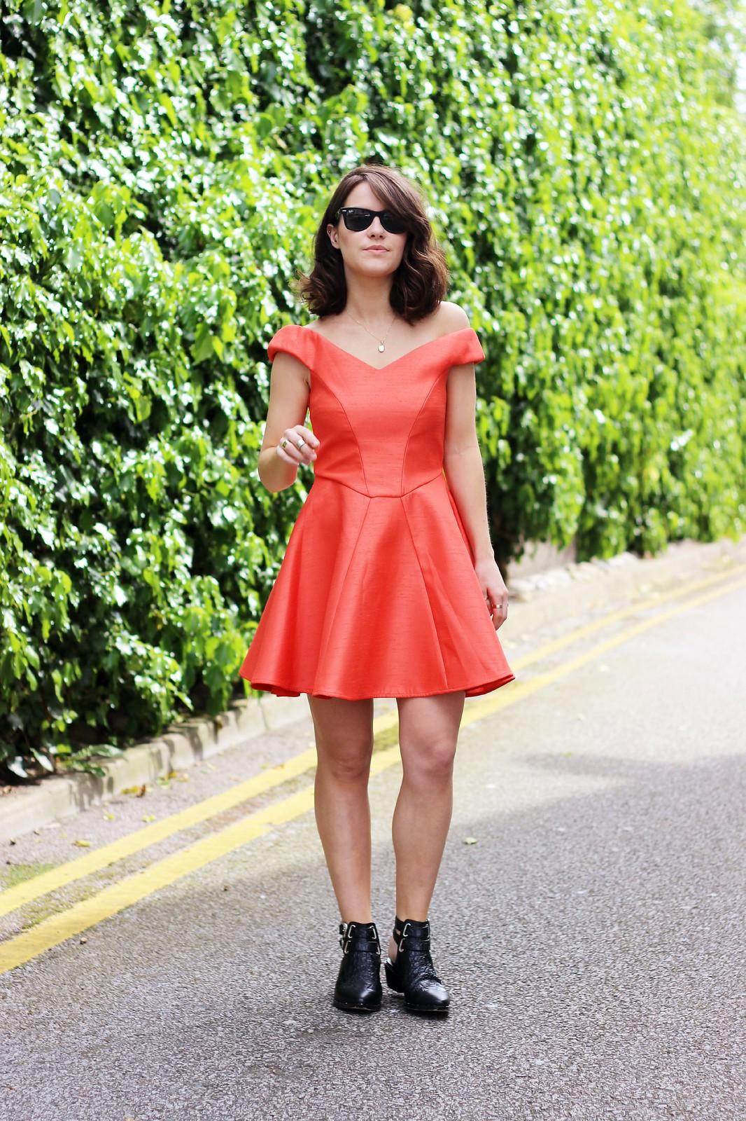 Girissima off shoulder dress 1