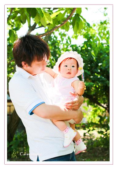 赤ちゃん写真 1才記念 岐阜県美濃市 出張撮影 自宅 女性カメラマン ロケーション撮影