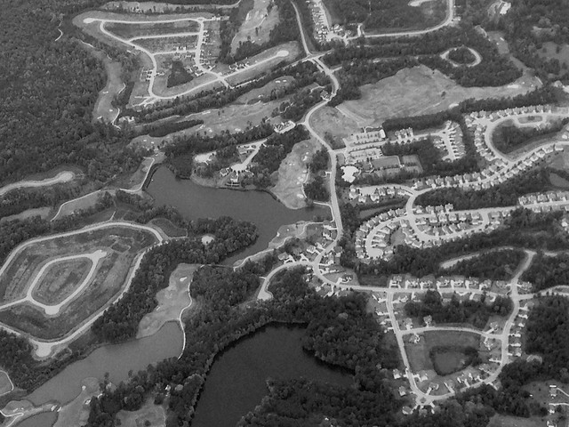 suburban sprawl in Georgia (c2014 FK Benfield)