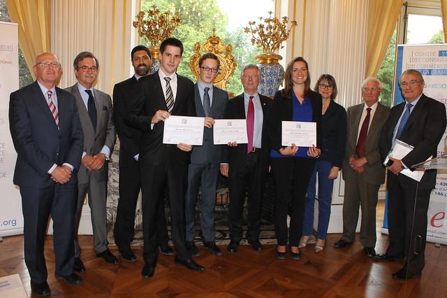 Prix du comit yvelines des conseillers du commerce for Conseiller commerce exterieur