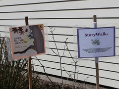 Sherburne Memorial Library posted a photo:	storywalk 2014