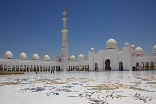 Abu Dhabi: Sheikh Zayed Grand Mosque