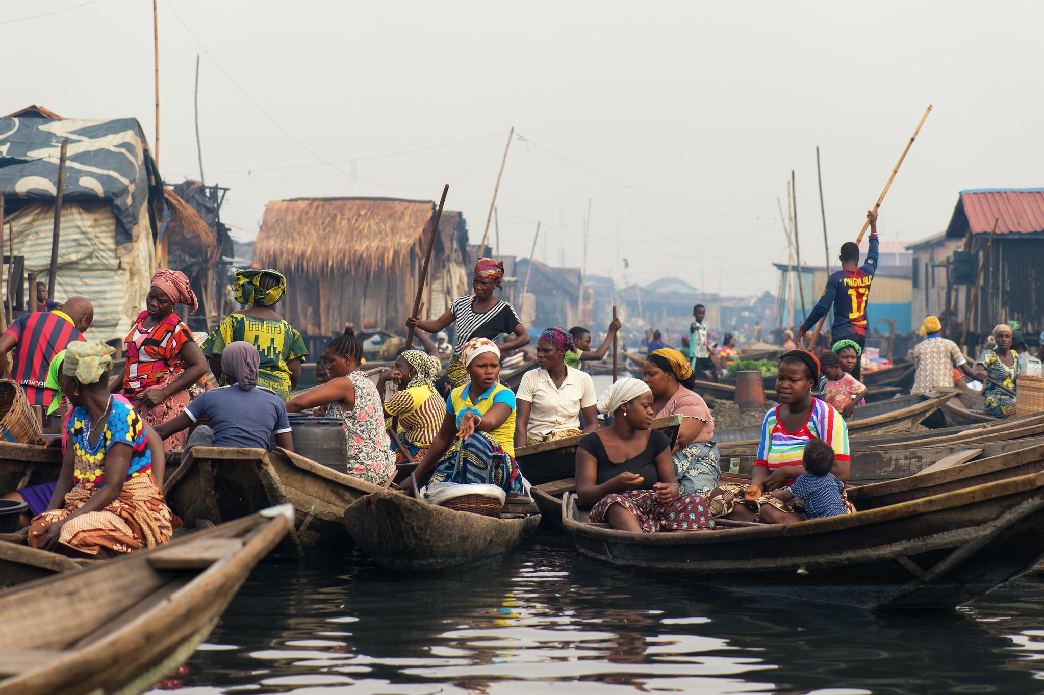 Makoko Morning Commute