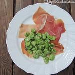 Rezepte mit Dicken Bohnen@broad beans and spanish ham