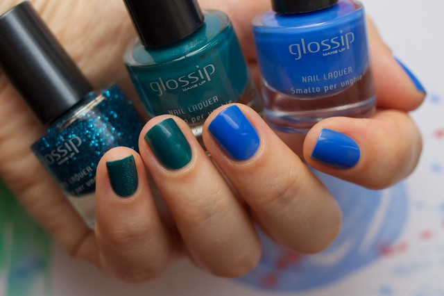 02 Glossip #46 Blue Fairy + #49 Caribbean Sea