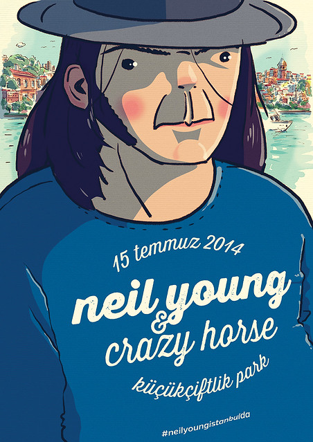 neil young at istanbul