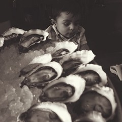 Oysters and babies.
