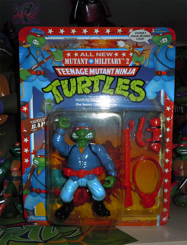 """MUTANT MILITARY 2"" TEENAGE MUTANT NINJA TURTLES ::  YANKEE DOODLE RAPH  i (( 1992 ))"