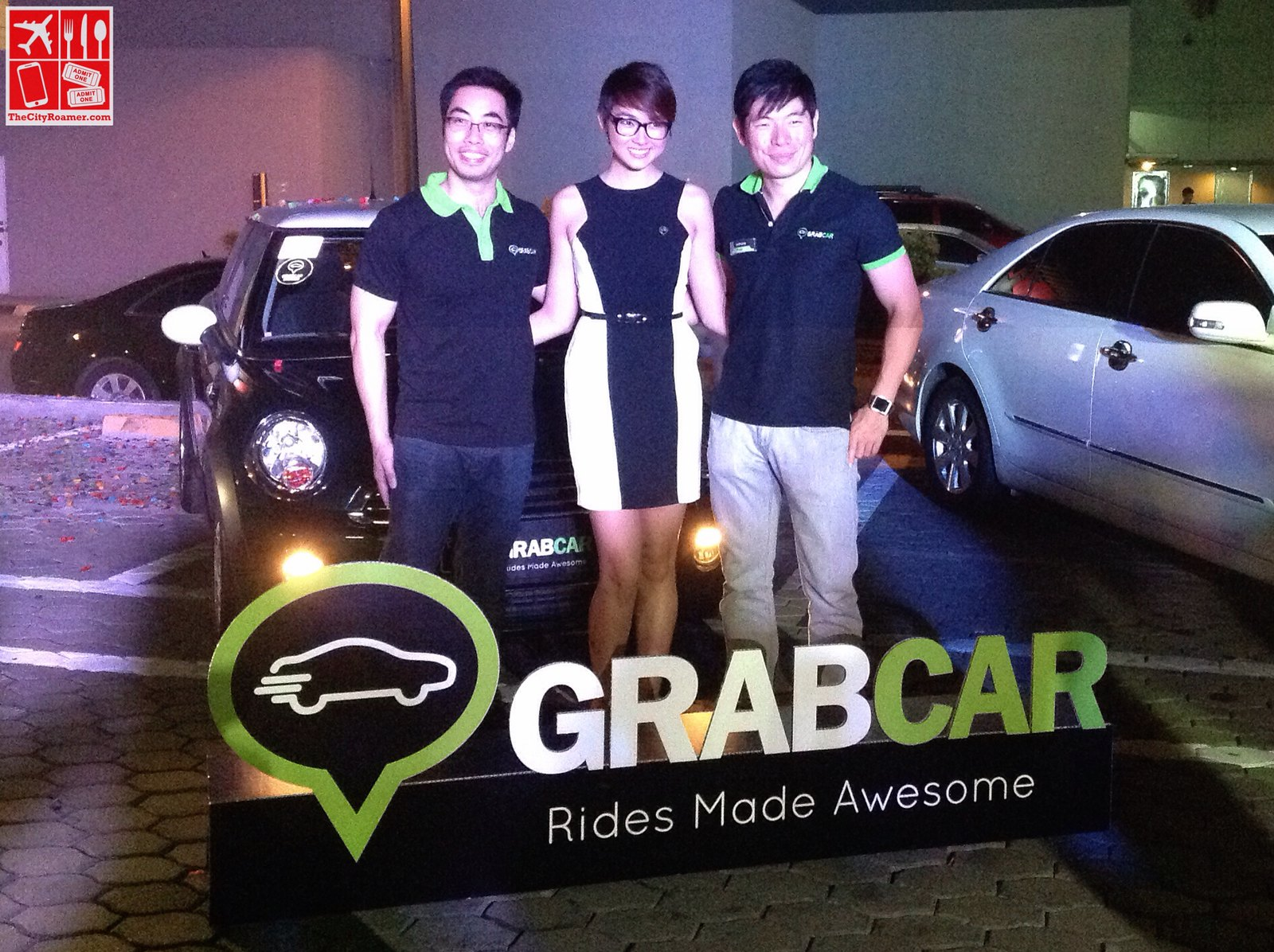 The GrabTaxi Philippines Executives at the GrabCar Media Launch