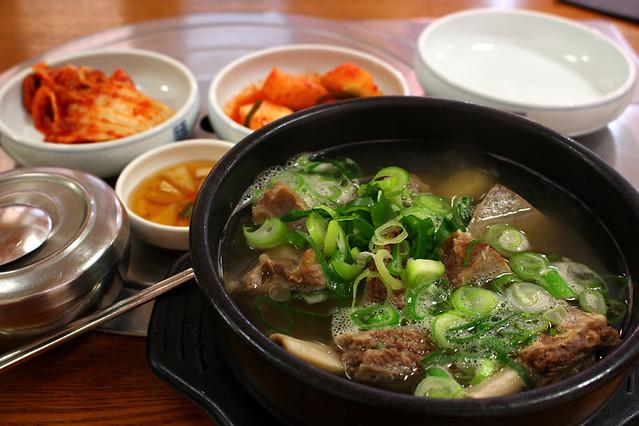 Galbitang - Beef-rib soup
