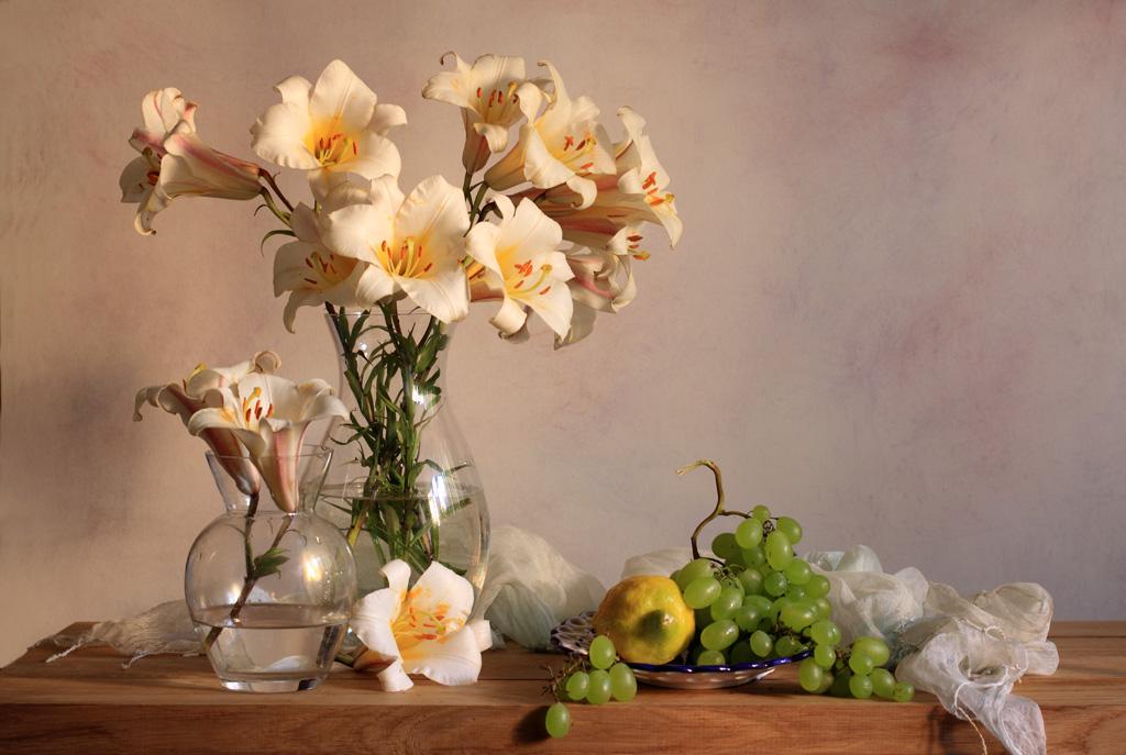 Lilies Invitation