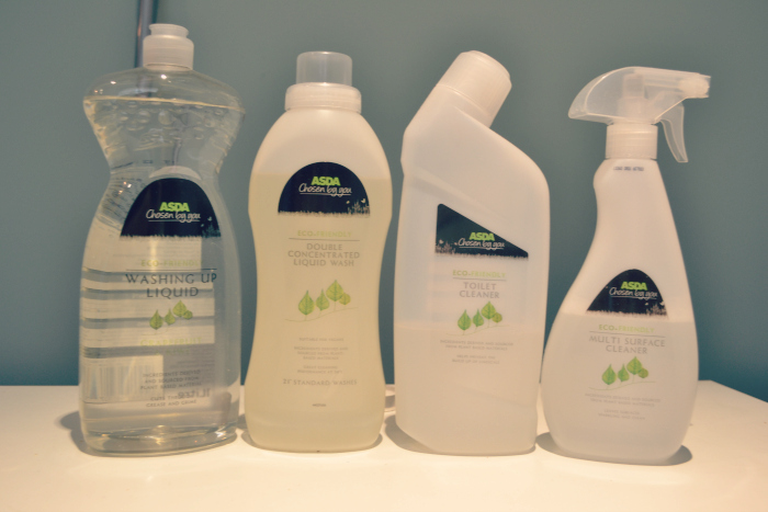 Asda eco-friendly cleaning products
