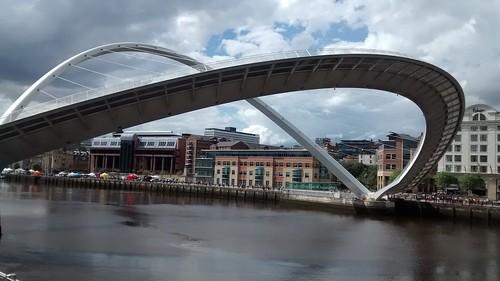 Gateshead Millennium Bridge June 14