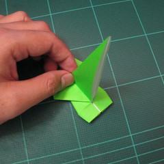 วิธีพับกระดาษเป็นรูปหอยทาก (origami Snail) 013