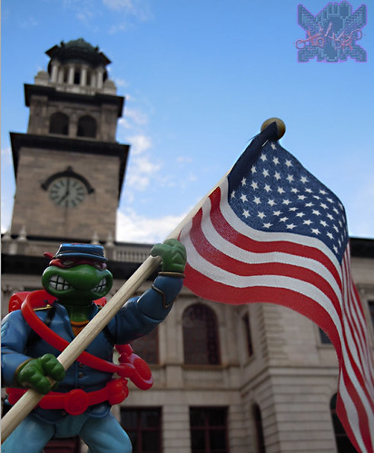 """MUTANT MILITARY 2"" TEENAGE MUTANT NINJA TURTLES ::  YANKEE DOODLE RAPH  iv (( 1992 ))"