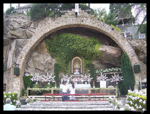 Altar Gruta Nuestra Señora de Begoña